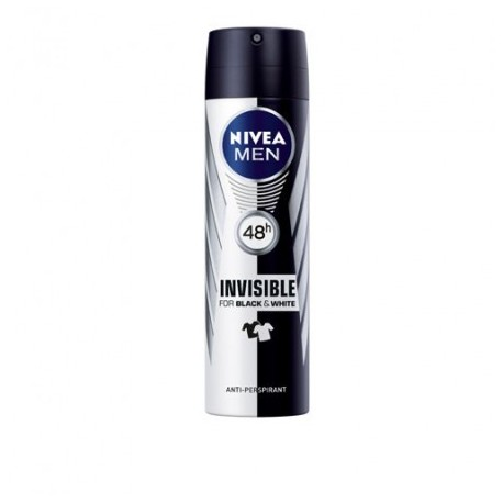 Desodorante Nivea Spray Men Invisible 200 ml