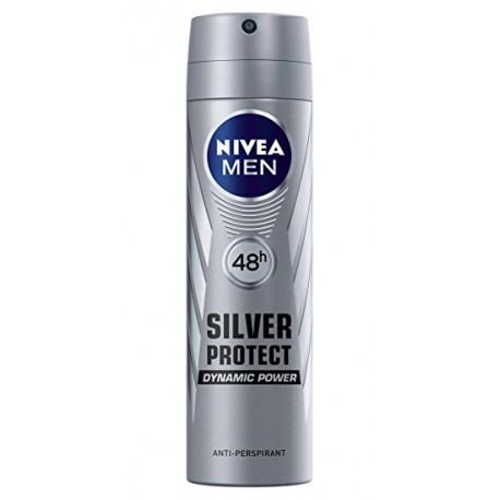Desodorante Nivea Spray Silver Protect 200 ml