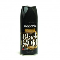 Desodorante Babaria Spray Black Gold 150 ml