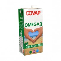 Leche Covap Omega 3 brick 1 litro