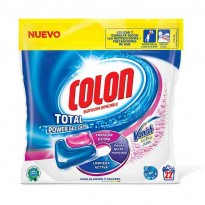 Colón Gel Power Lavadora Vanish 22 cápsulas