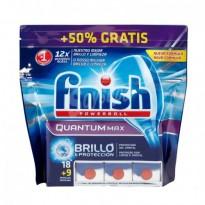 Finish Quantum Lavavajillas 15 y 27 cápsulas