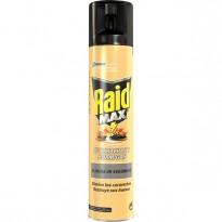 Insecticida Spray Cucarachas y Hormigas Raid Max 300 ml