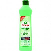 Limpiador Vitro Froggy Crema Verde Spray 500 ml