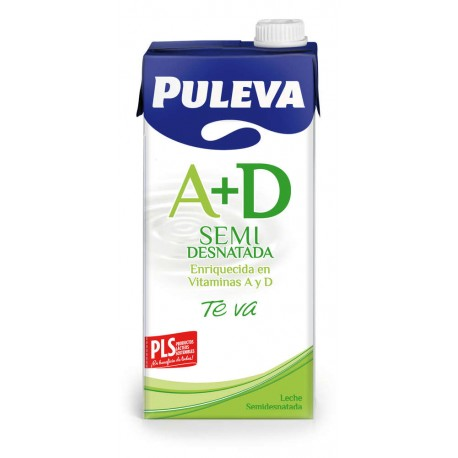 Leche Puleva Semidesnatada brick 1 litro