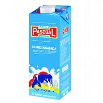 Leche Pascual Semi Desnatada brick 1 litro