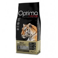 OPTIMA NOVA CAT ADULT CHICKEN 2 KG.