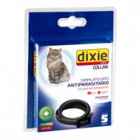 Collar Insecticida Dixie Gatos Color Negro