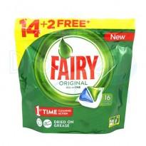 Fairy Ultra Todo en 1 Lavavajillas 16 y 28 cápsulas