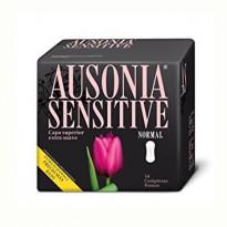Ausonia compresas Sensitive normal 14u.