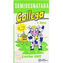 Leche Solar Semi desnatada Galicia 1 litro