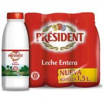 Leche President 1'5 l. Entera