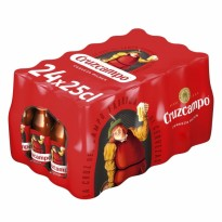 Cruzcampo 25 cl pack 24 u.