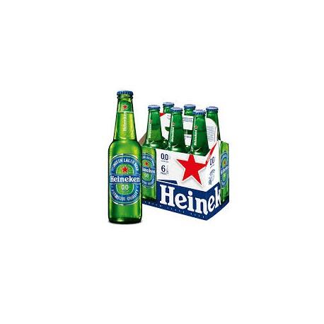 Heineken 25 cl. sin alcohol pack 24