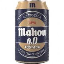 Mahou Tostada 0,0 33 cl. pack 24