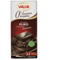 VALOR - Chocolate Puro Sin Ázucar 100 g