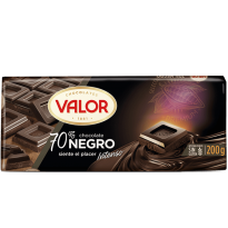 VALOR - Chocolate 70% negro 200 g