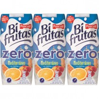 Biofrutas Pascual Mediterráneo Zero 330 ml (Pack 3)