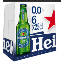HEINEKEN SIN ALCOHOL 25 CL (PACK 24) - R432