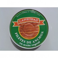 Anchoas Caprimar Cceite Vegetal 550 gramos
