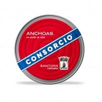 Anchoas Consorcio Aceite Oliva 550 gramos