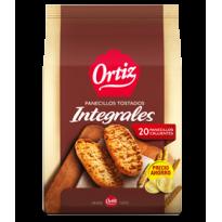 Panecillos Integrales Ortiz 225 gramos