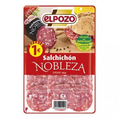 Elpozo Salchichón Nobleza 85 gramos