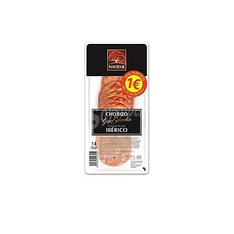 Navidul Chorizo Ibérico 50 gramos