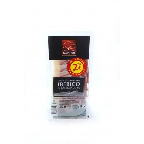 Navidul Jamón Ibérico de Cebo 40 gramos