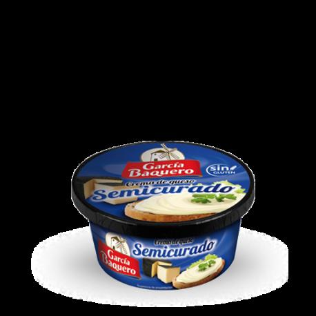 Crema de Queso Semi García Baquero 125 gramos