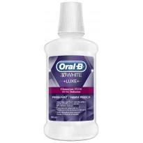 Colutorio Oral-B 3D White Luxe 500 ml